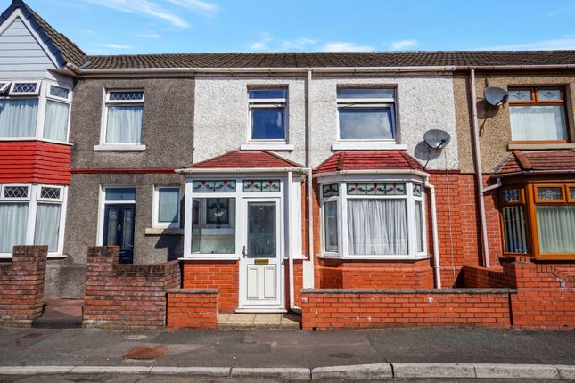 Thumbnail Terraced house for sale in Maesgwyn Street, Port Talbot