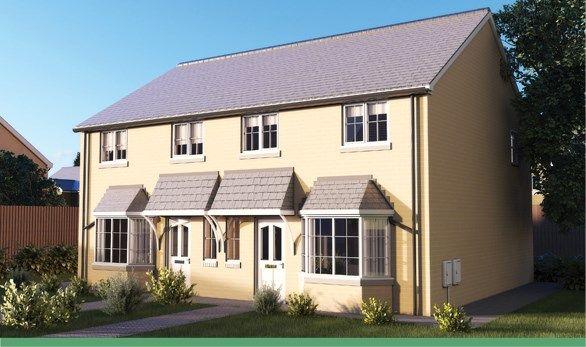 Thumbnail Semi-detached house for sale in Parc Aberaman, Aberaman, Aberdare