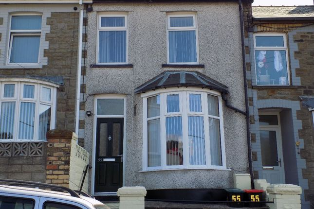 2 bed terraced house for sale in Bryngwyn Road, Six Bells, Abertillery. 2Pd. NP13