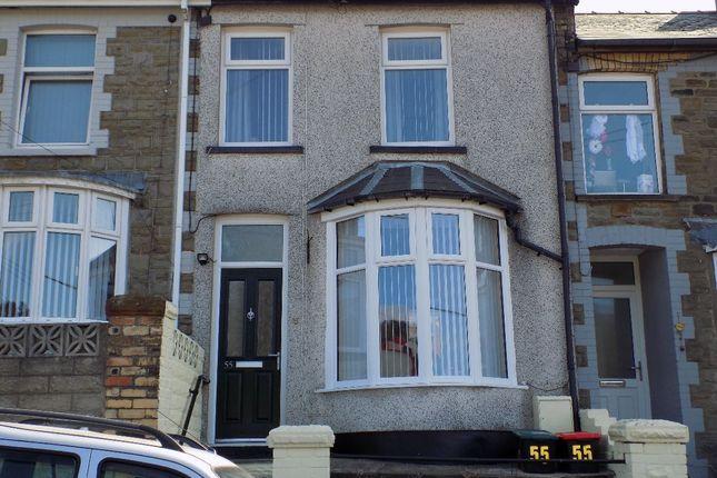 Thumbnail Terraced house for sale in Bryngwyn Road, Six Bells, Abertillery. 2Pd.