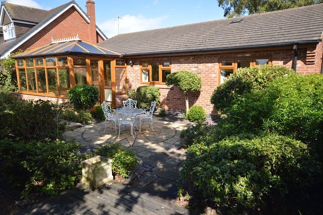 Thumbnail Detached bungalow to rent in Manor Road, Sandbach