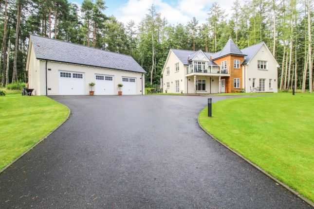 Thumbnail Detached house for sale in Craigmyle Road, Tophins, Banchory