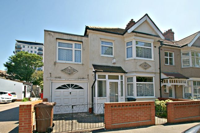 Thumbnail End terrace house to rent in Woodlands Avenue, Chadwell Heath, Romford