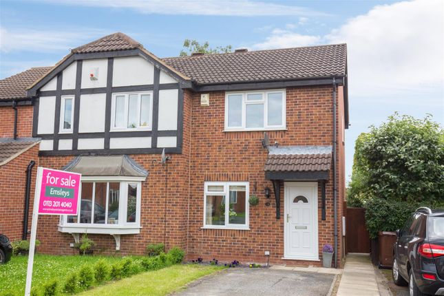 Thumbnail 2 bed semi-detached house for sale in Pinders Green Drive, Methley, Leeds