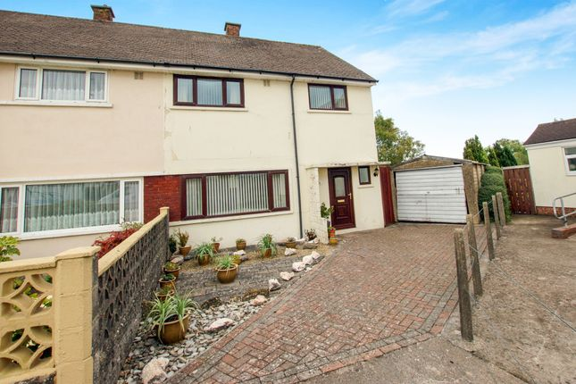 3 bed end terrace house for sale in Kipling Close, Penarth