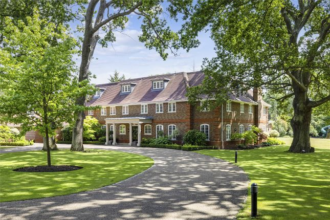 Thumbnail Detached house for sale in Woodlands Road East, Virginia Water, Surrey