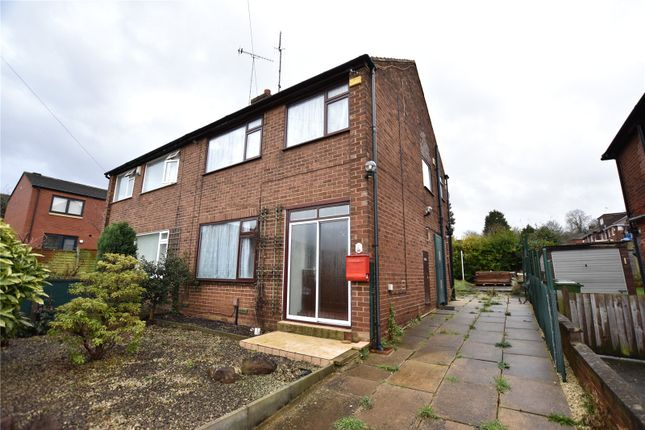 Thumbnail Semi-detached house to rent in Cross Heath Grove, Leeds, West Yorkshire