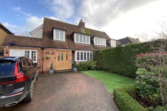 Thumbnail Semi-detached house for sale in Millcrest Road, Goffs Oak, Waltham Cross