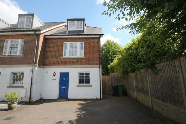 Thumbnail End terrace house to rent in Station Road North, Merstham, Redhill