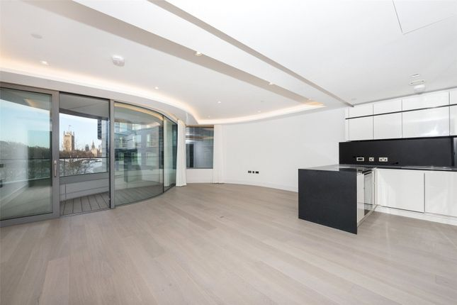 Thumbnail Flat to rent in The Corniche, Tower Two, Albert Embankment, London