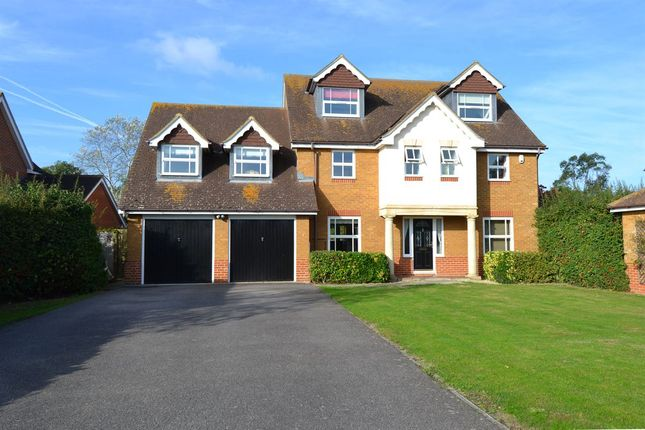 Thumbnail Detached house for sale in Birkdale Close, Molehill Road, Chestfield, Whitstable