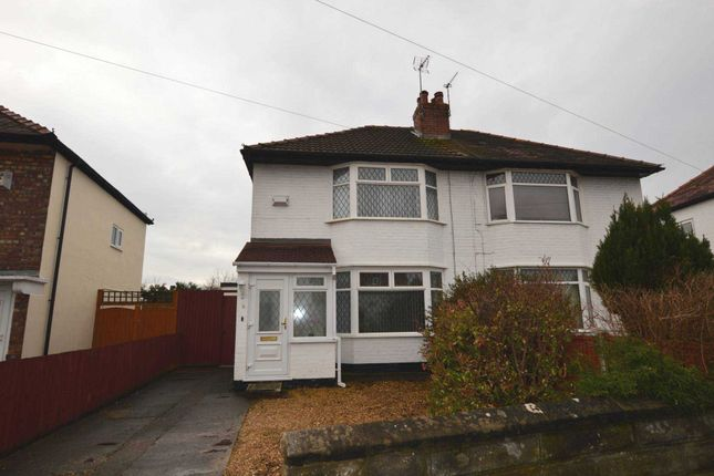 Thumbnail Semi-detached house to rent in Glenburn Avenue, Eastham, Wirral