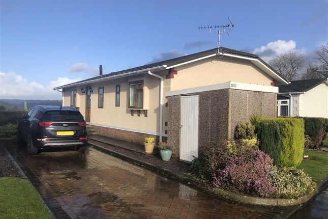 Thumbnail Mobile/park home for sale in Towy View Park, Capel Dewi Road, Llangunnor