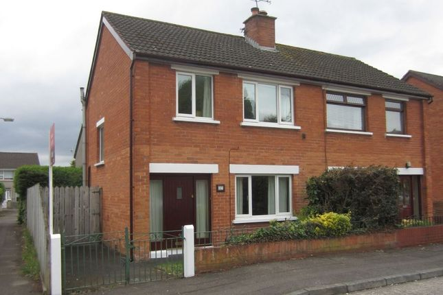 Thumbnail Semi-detached house to rent in Ava Crescent, Belfast