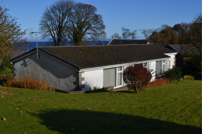 Thumbnail Detached bungalow for sale in Bay View, Brodick, Isle Of Arran