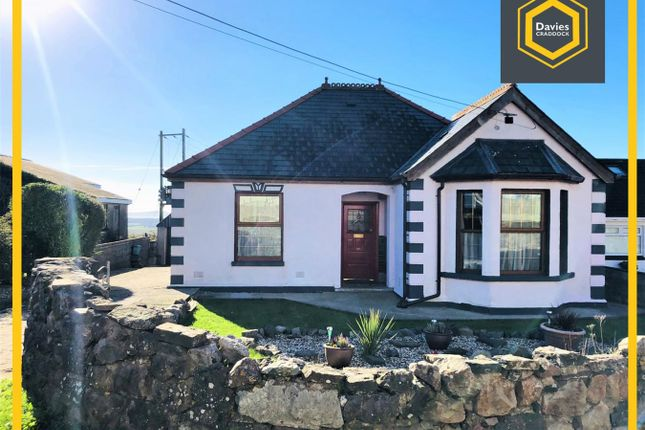 Thumbnail Detached bungalow for sale in Heol Gwermont, Llansaint, Kidwelly