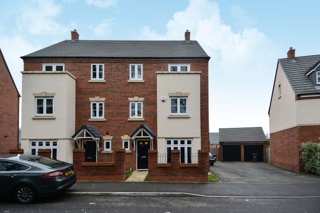 Thumbnail Semi-detached house for sale in Roebuck Road, Edgbaston, Birmingham