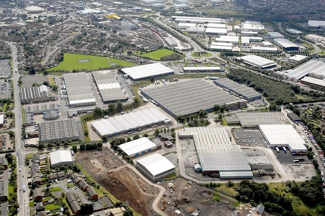 Thumbnail Industrial to let in Secure Open Storage Land, Woods Bank Estate, Wednesbury