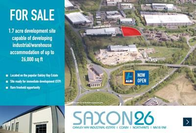 Thumbnail Light industrial for sale in Saxon 26, Saxon Way East, Oakley Hay Industrial Estate, Corby, Northants