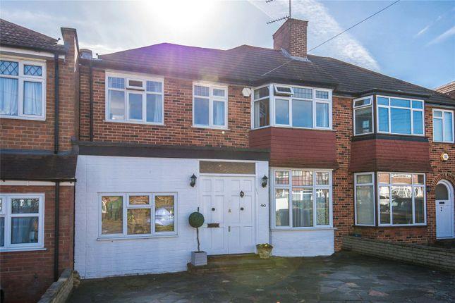 Thumbnail Semi-detached house for sale in Bullescroft Road, Edgware