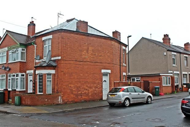 Thumbnail End terrace house for sale in Dorset Road, Coventry