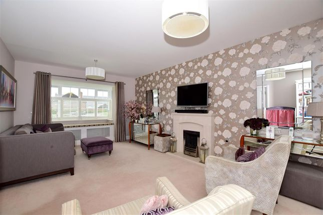 Thumbnail Detached house for sale in Regent Way, Kings Hill, West Malling, Kent
