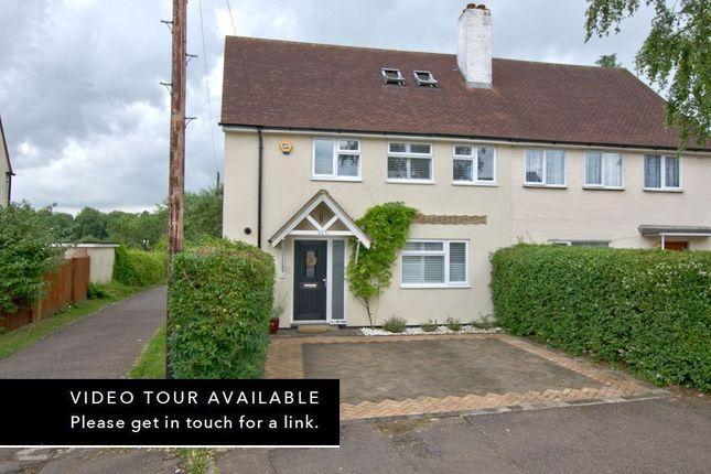 Thumbnail Semi-detached house for sale in Foster Road, Trumpington, Cambridge