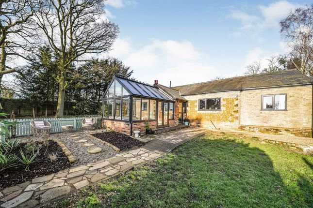 Thumbnail Detached bungalow for sale in Main Road, East Winch, King's Lynn