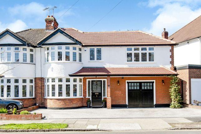 Thumbnail Semi-detached house for sale in Pemberton Avenue, Romford