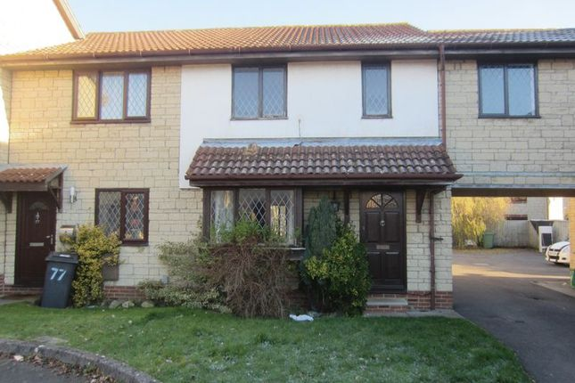 Thumbnail Terraced house to rent in Paddock Close, Bradley Stoke, Bristol