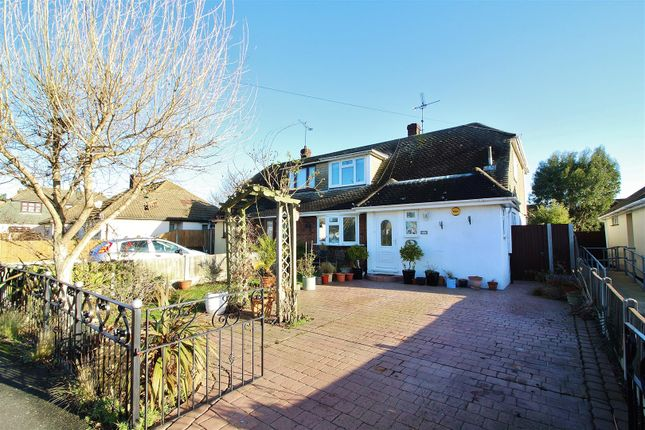 Thumbnail Semi-detached house for sale in Willow Close, Canvey Island