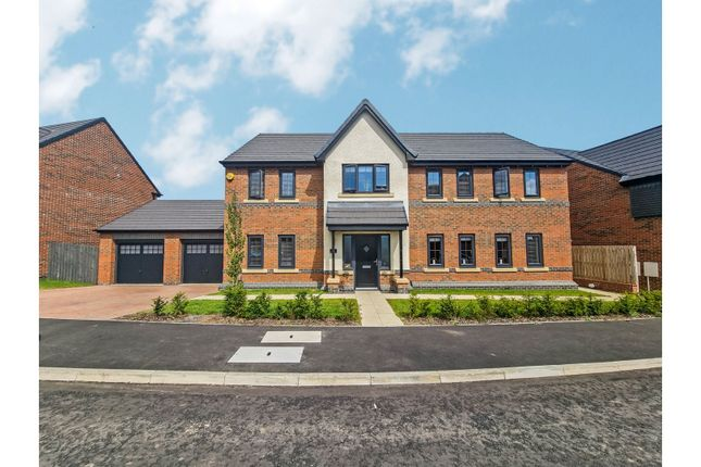 Thumbnail Detached house for sale in Leighfield Drive, Sunderland