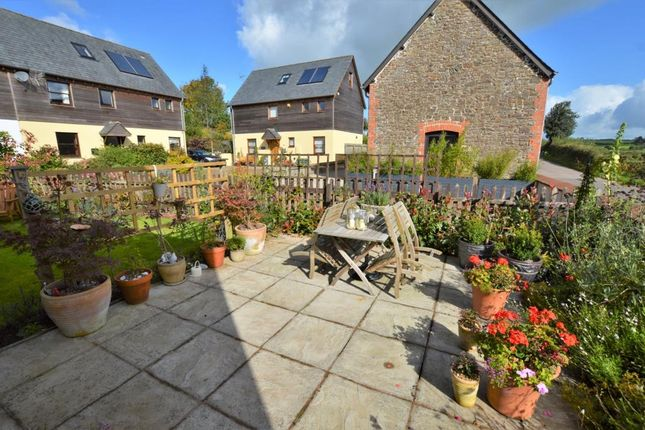Garden of Higher Town Court, Rensey Lane, Lapford, Crediton EX17