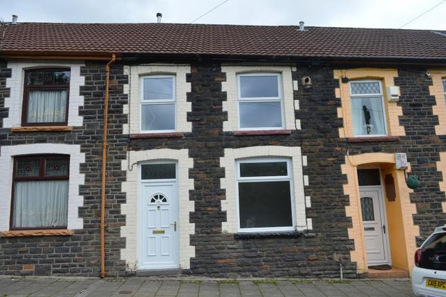 Thumbnail Terraced house to rent in Lower Terrace, Stanley Town, Ferndale