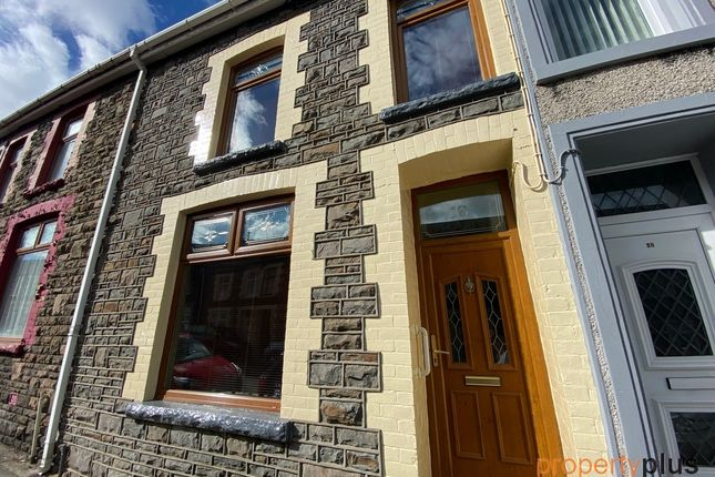 Thumbnail Terraced house for sale in Jubilee Road Aberdare -, Aberdare