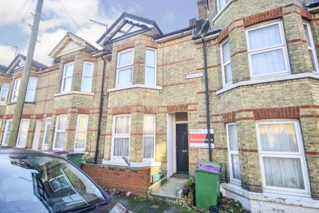 Thumbnail Terraced house for sale in Abbott Road, Folkestone, Kent