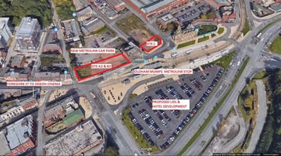 Thumbnail Commercial property for sale in Sites At Princes Gate, Mumps, Oldham, Lancashire