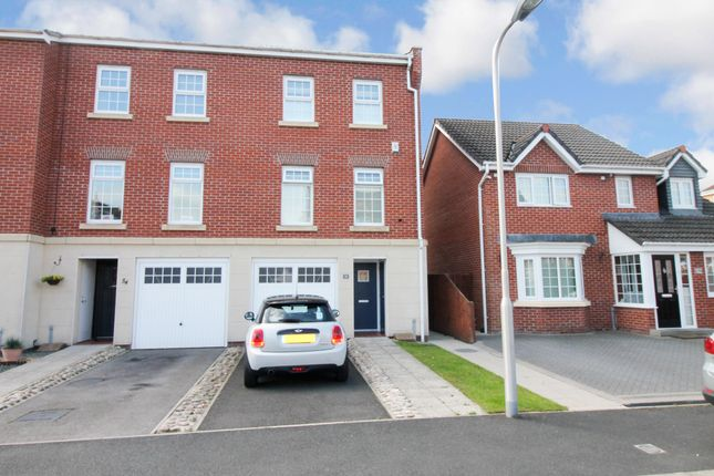 Thumbnail Town house for sale in Lowry Gardens, Carlisle