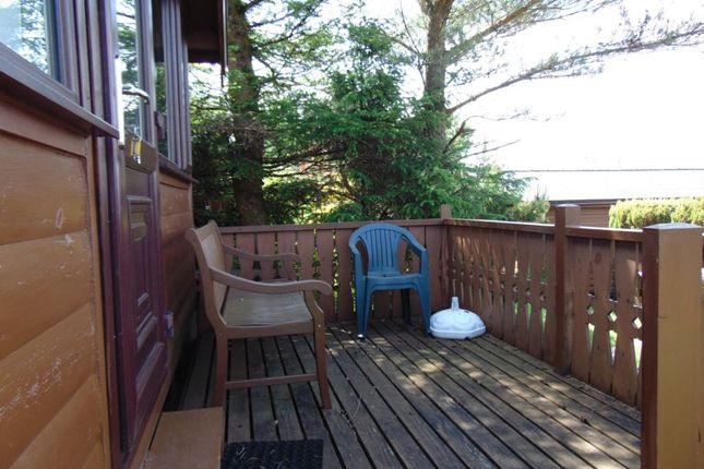 54 Deck of Trawsfynydd Holiday Village, Bron Aber, Trawsfynydd, Blaenau Ffestiniog LL41