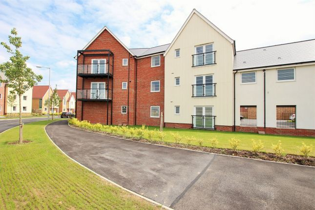 Thumbnail Flat for sale in Pipit Court, Stanway, Colchester, Essex