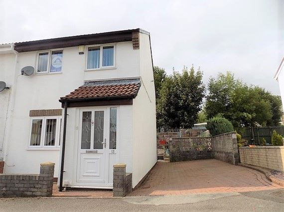 Thumbnail End terrace house for sale in Queen Street, Blaina