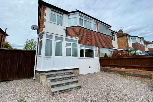 3 bed semi-detached house for sale in Cleveleys Avenue, Leicester LE3
