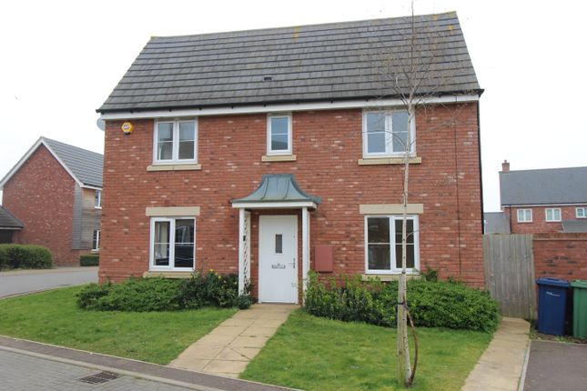 Thumbnail Detached house to rent in Cowslip Drive, Bishops Cleeve, Gloucestershire