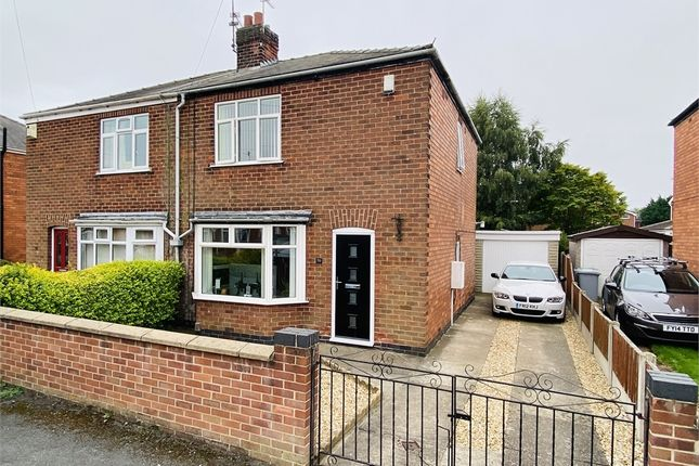 Semi-detached house for sale in Milton Street, Balderton, Newark, Nottinghamshire.