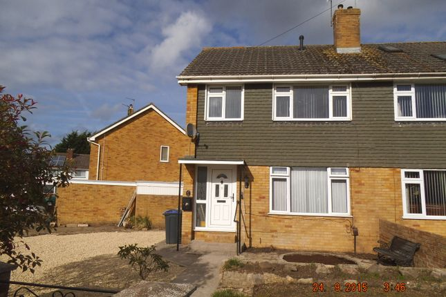Thumbnail Semi-detached house to rent in Parklands, Trowbridge