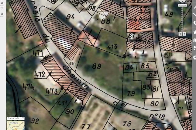 Limoux France Map.Land For Sale In Limoux Aude Languedoc Roussillon France Zoopla