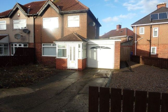 Thumbnail Semi-detached house to rent in Princes Gardens, Blyth