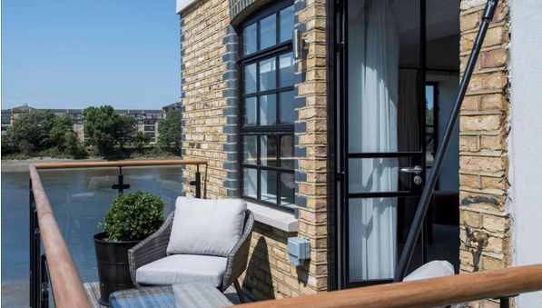 Thumbnail Triplex to rent in Palace Wharf Apartments, Hammersmith
