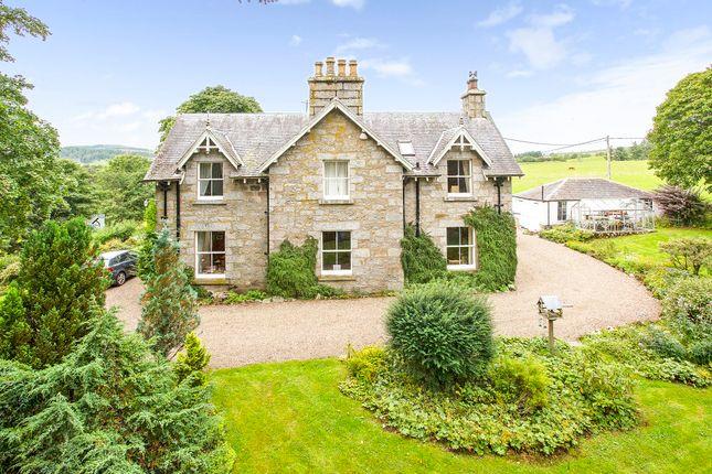 Thumbnail Detached house for sale in Cnoc Sualtach, Kirkmichael, Blairgowrie
