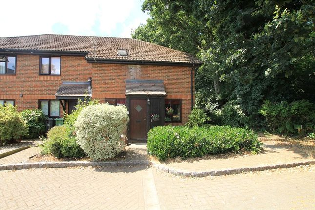 Thumbnail End terrace house for sale in Medhurst Close, Chobham, Woking, Surrey